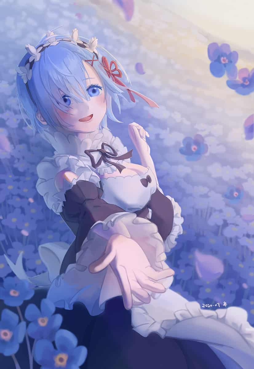 レム Illust of 米米 Forget-me-not Re:Zero Rem