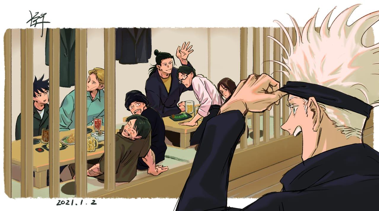 いつかの日へ Illust of 祥 JujutsuKaisenFanartContest JujutsuKaisen