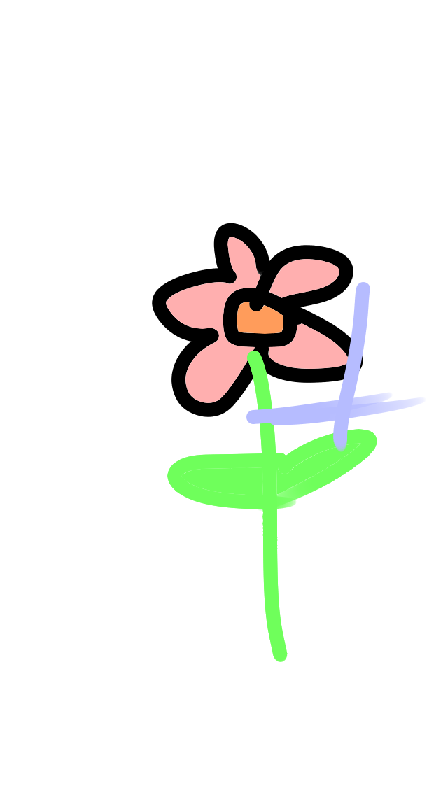 flor Illust of pilapenz April2021_Flower medibangpaint