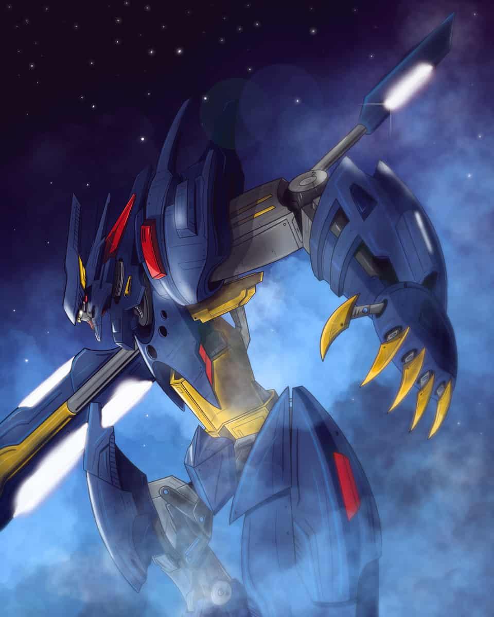 Blizzard Mecha Illust of Tony Paz battle ARTstreet_Ranking Original_Illustration_Contest April.2020Contest:Color robot cold mecha night fog winter