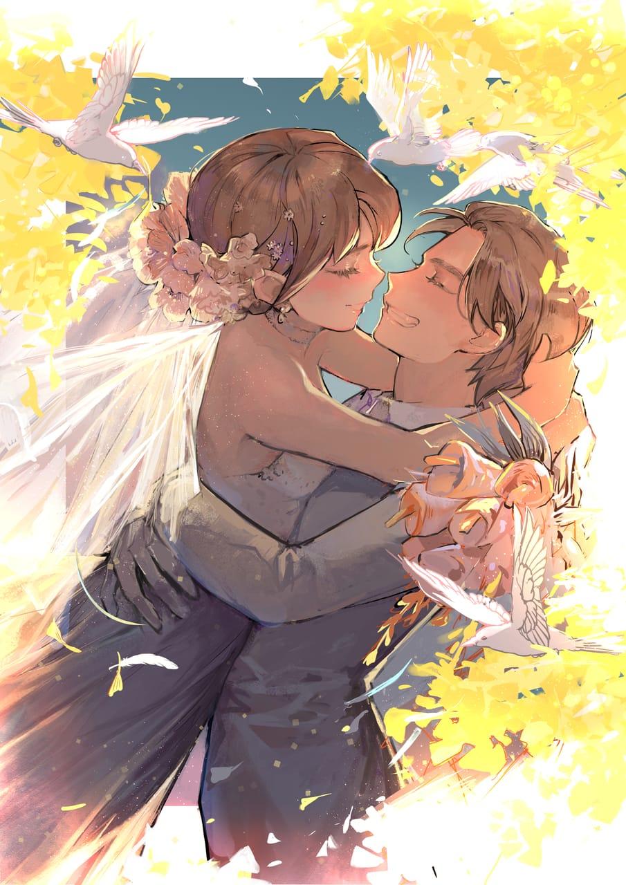 LOVE is LOVE! Illust of Go To Uranus ARTstreet_Ranking_Contest LoveisLove wedding bg
