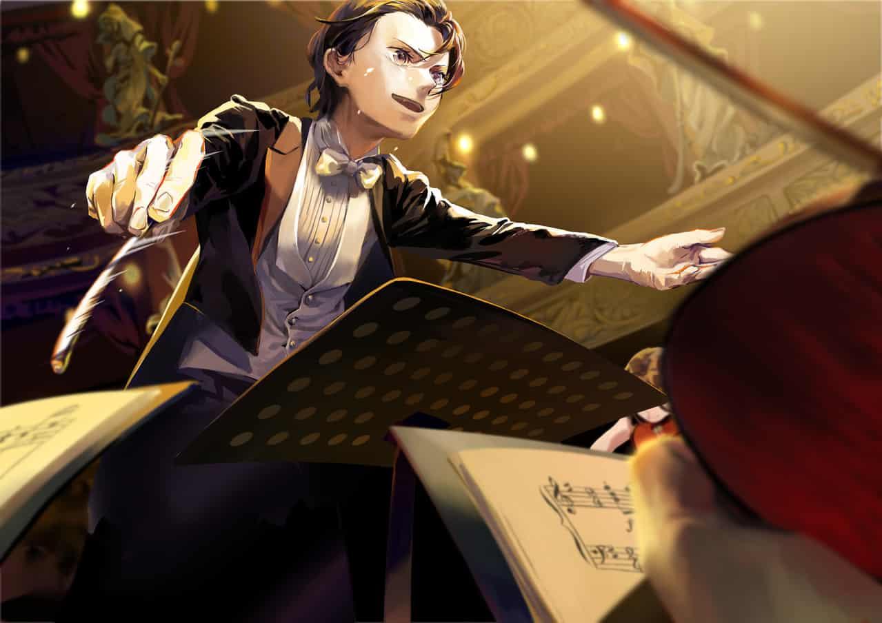 指揮者 Illust of MIE. 指揮者 original oc