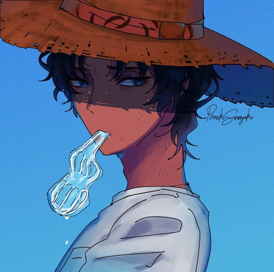 夏バソ Illust of pirosiki バーソロミュー・ロバーツ fanfic Fate/GrandOrder