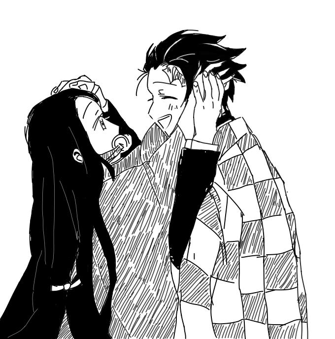 Love between Brothers and Sisters 💖 Illust of -shiteru- DemonSlayerFanartContest KamadoNezuko love KamadoTanjirou KimetsunoYaiba