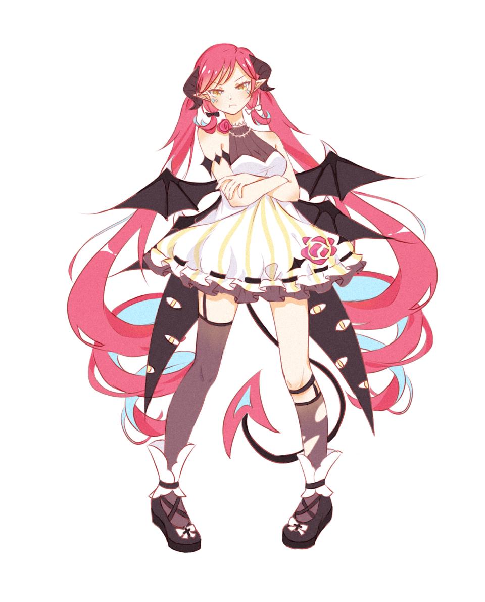 👿 Illust of 五月呜蜩 medibangpaint girl oc original
