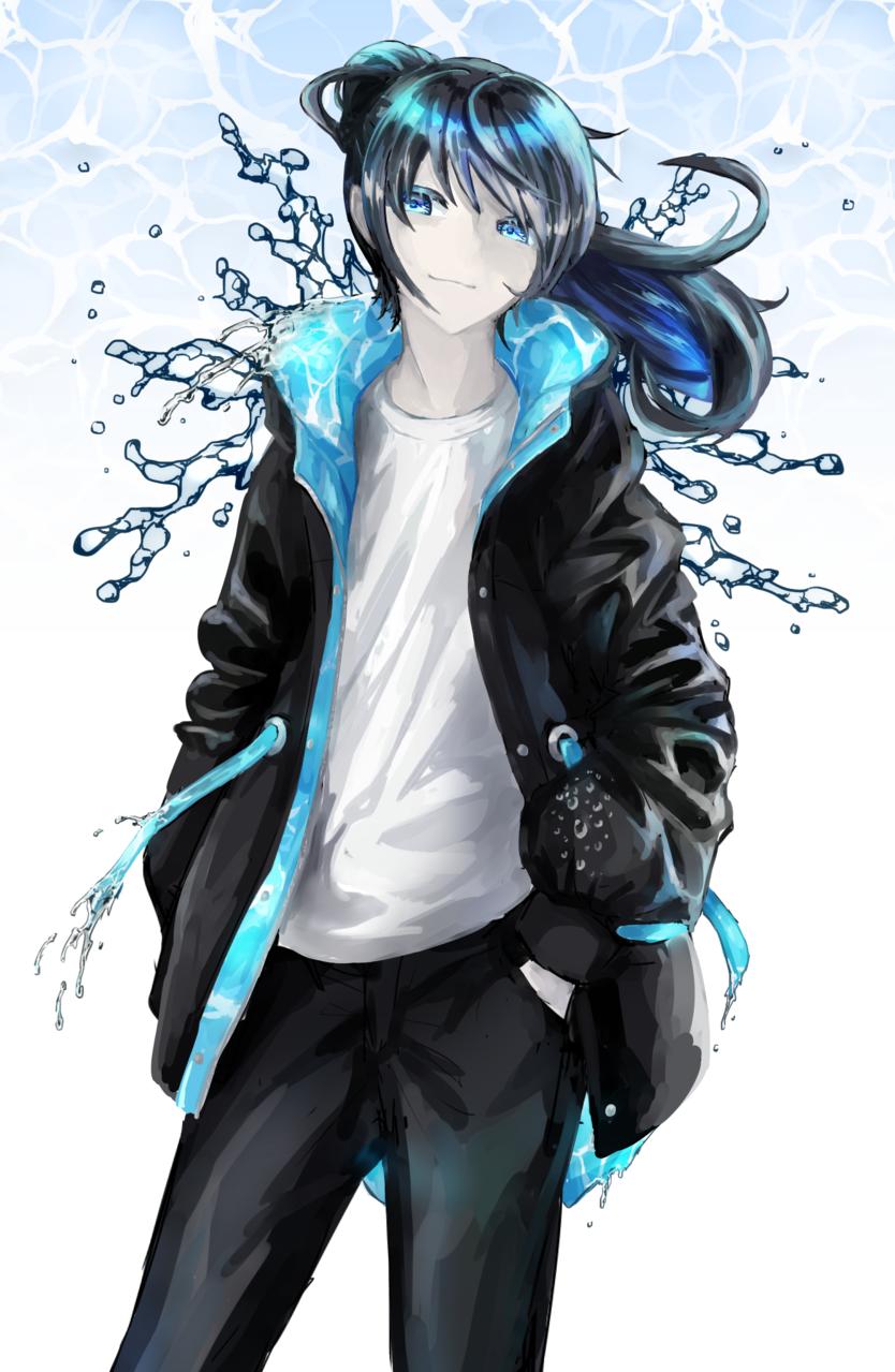 水っぽいパーカー Illust of フ雪 oc original design hoodie water