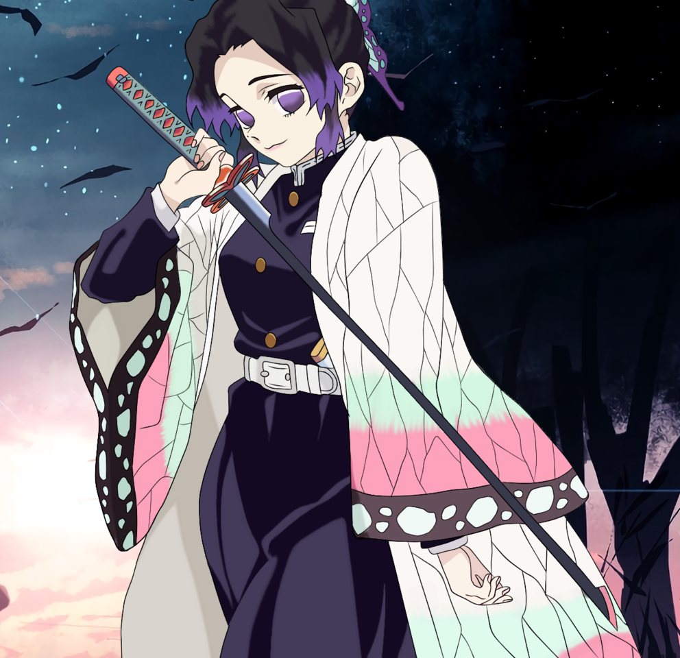 Shinobu Kocho  Illust of ShadowPolarX DemonSlayerFanartContest medibangpaint KochouShinobu KimetsunoYaiba