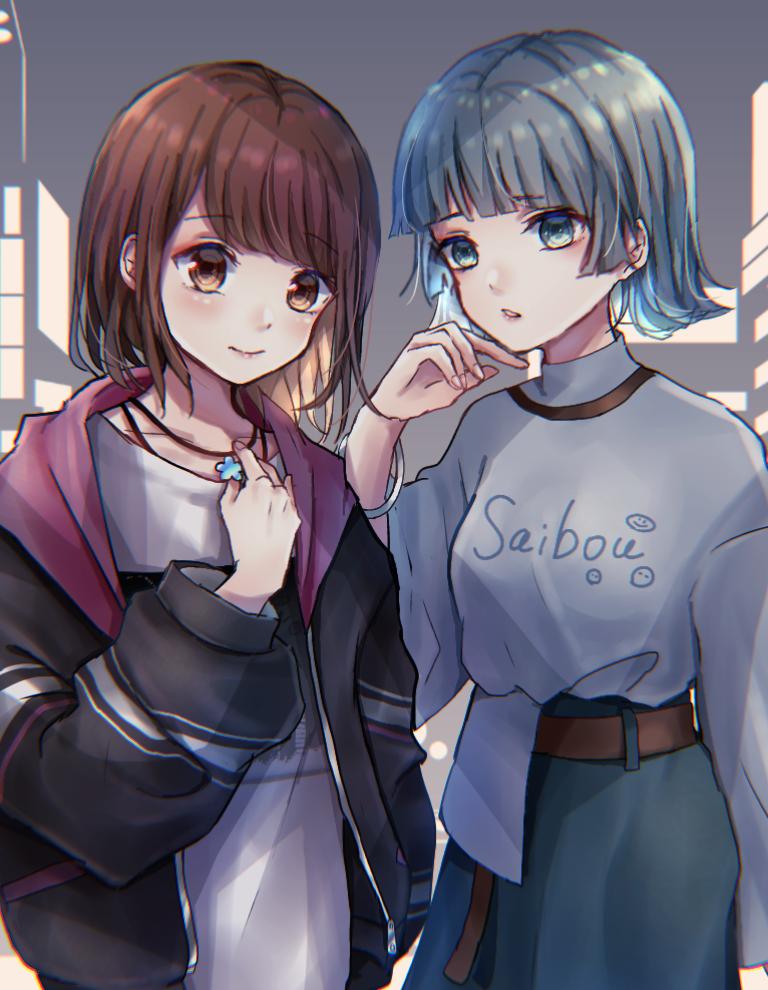 お2人組 Illust of ペニーパニー oc girl しわ original