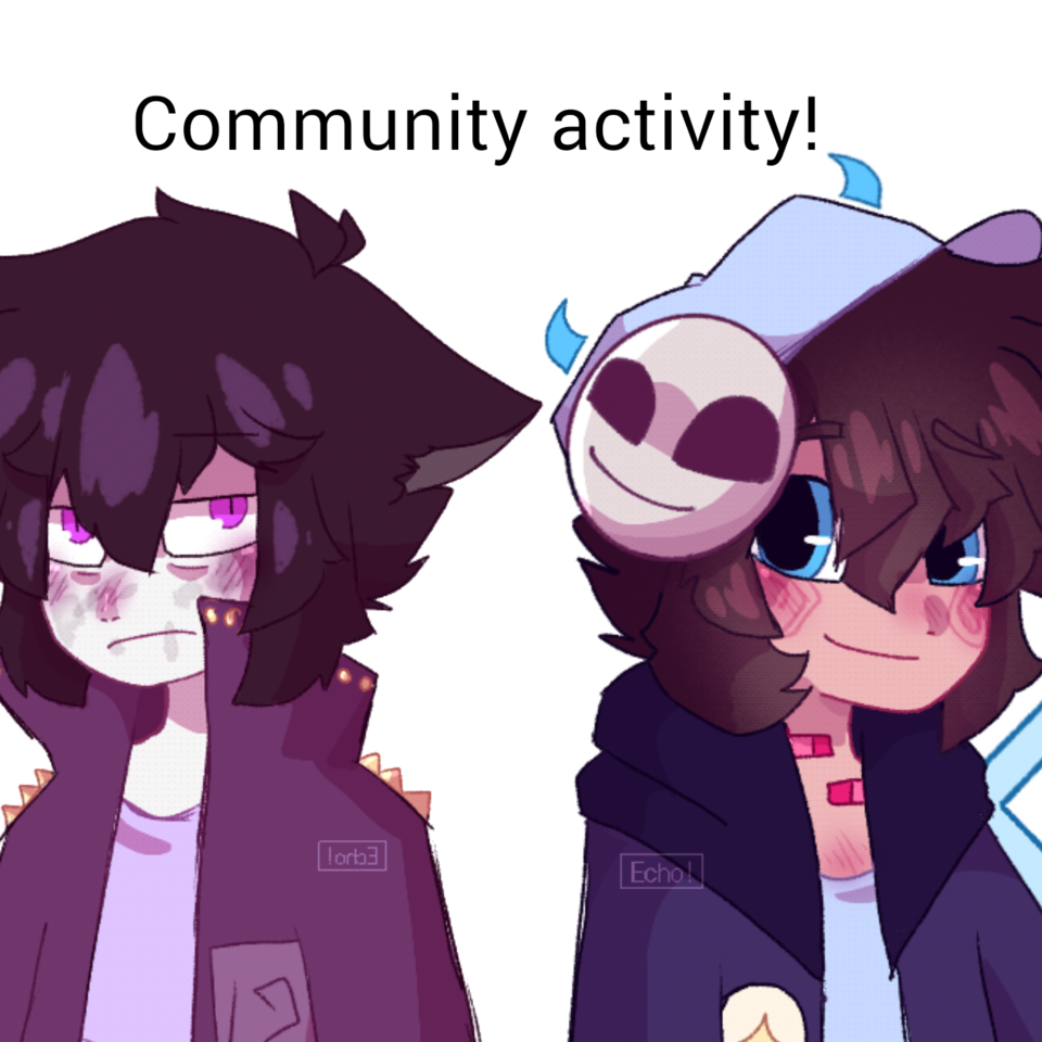 vote on a community activity  Illust of Plasters medibangpaint Echo! oc