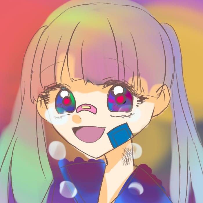 ワタシカワイイ? Illust of おみそ#田舎同盟 illustration girl おみそのお絵かき広場 oc CLIPSTUDIOPAINT レッツワンドロ kawaii