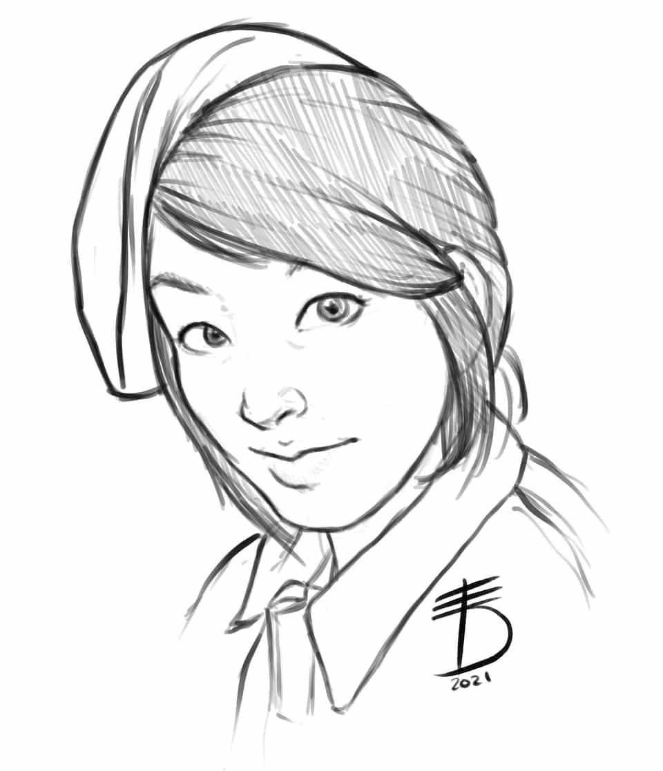 Hiromu Arakawa Sensei  Illust of Derwelt art FULLMETALALCHEMIST drawing Artwork medibang anime illustration mangaka portrait manga