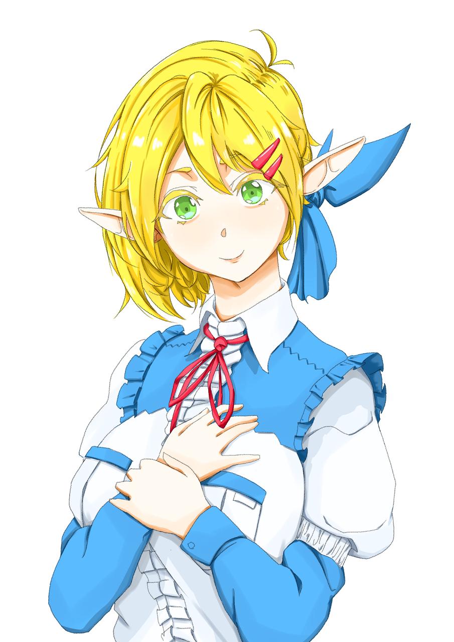 My Ideal Waifu (Fantasy Version) Illust of Perfectsword MyIdealWaifu_MyIdealHusbandoContest MyIdealWaifu medibangpaint elf girl