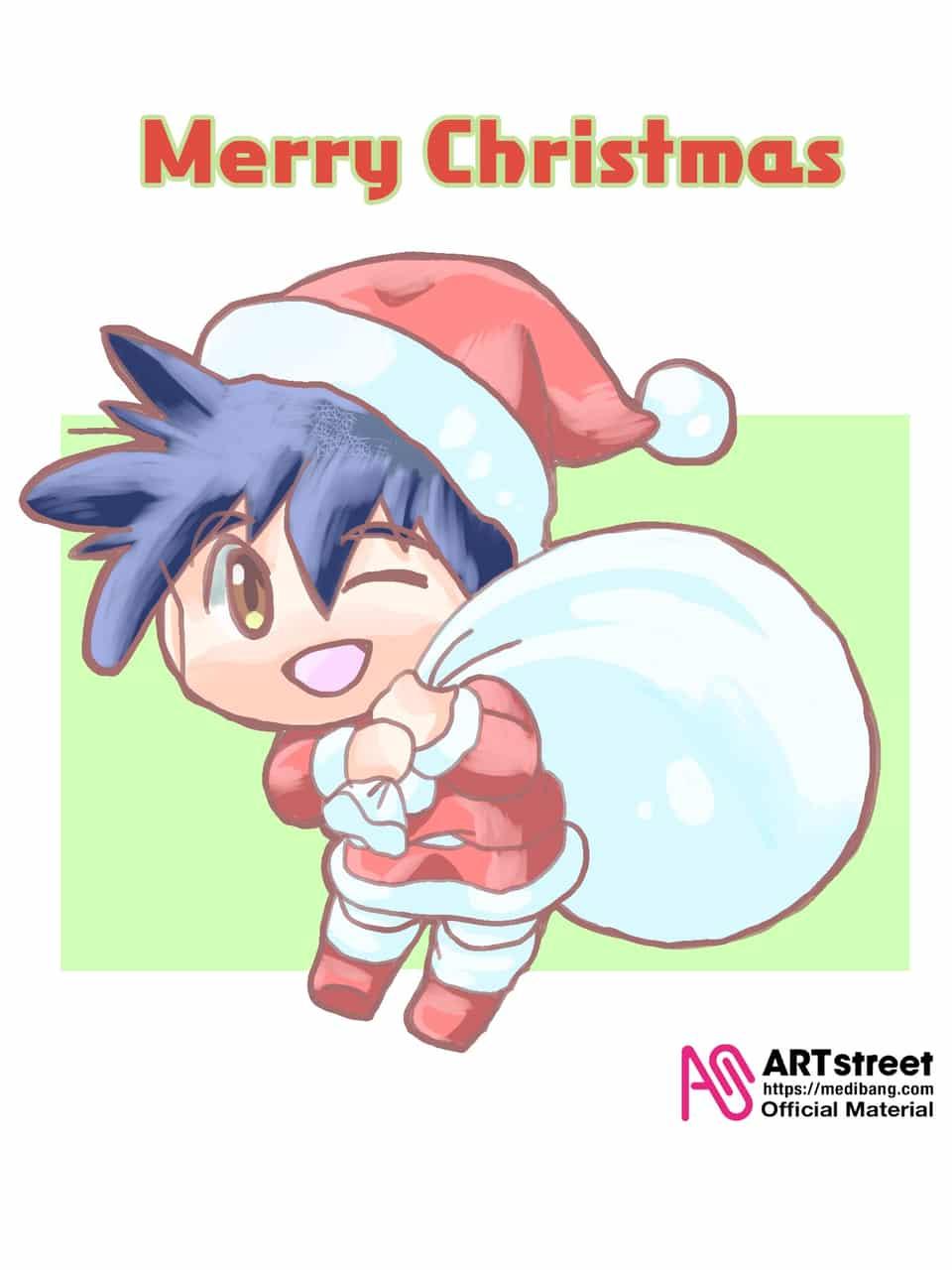 メリークリスマス Illust of 夜麻みゆき 刻の大地 Christmas Trace&Draw【Official】 十六夜