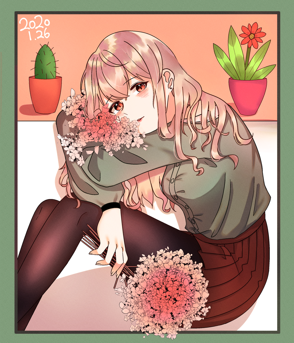 🌸 Illust of 묘나(Myona) medibangpaint sakura