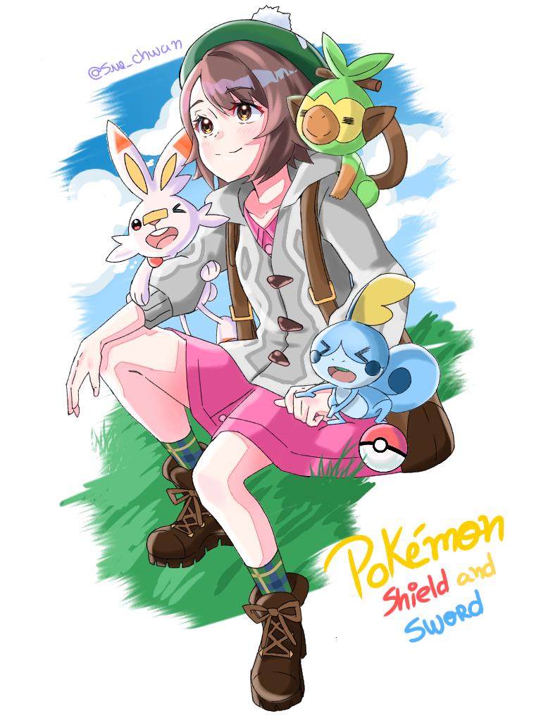 Pokémon Shield🛡 and Sword🗡 Illust of Sue-chwan ARTstreet_Ranking medibangpaint pokemon anime Pokemonshield Nintendo PokemonSword nintendofanart