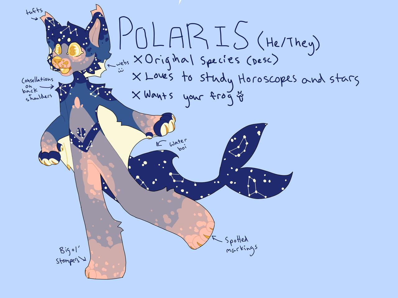 Polaris Illust of ♥ puppii ♥ medibangpaint