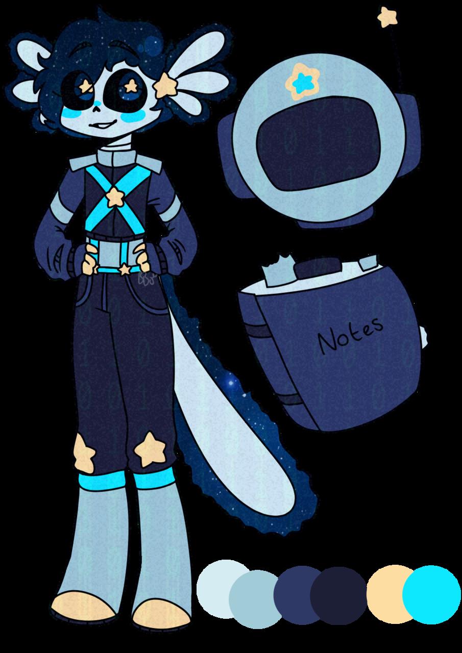 Thor Rocket! Illust of BushBabyOrigins medibangpaint ref blue star reference adopt referencesheet cute UndertaleAU undertale galaxy