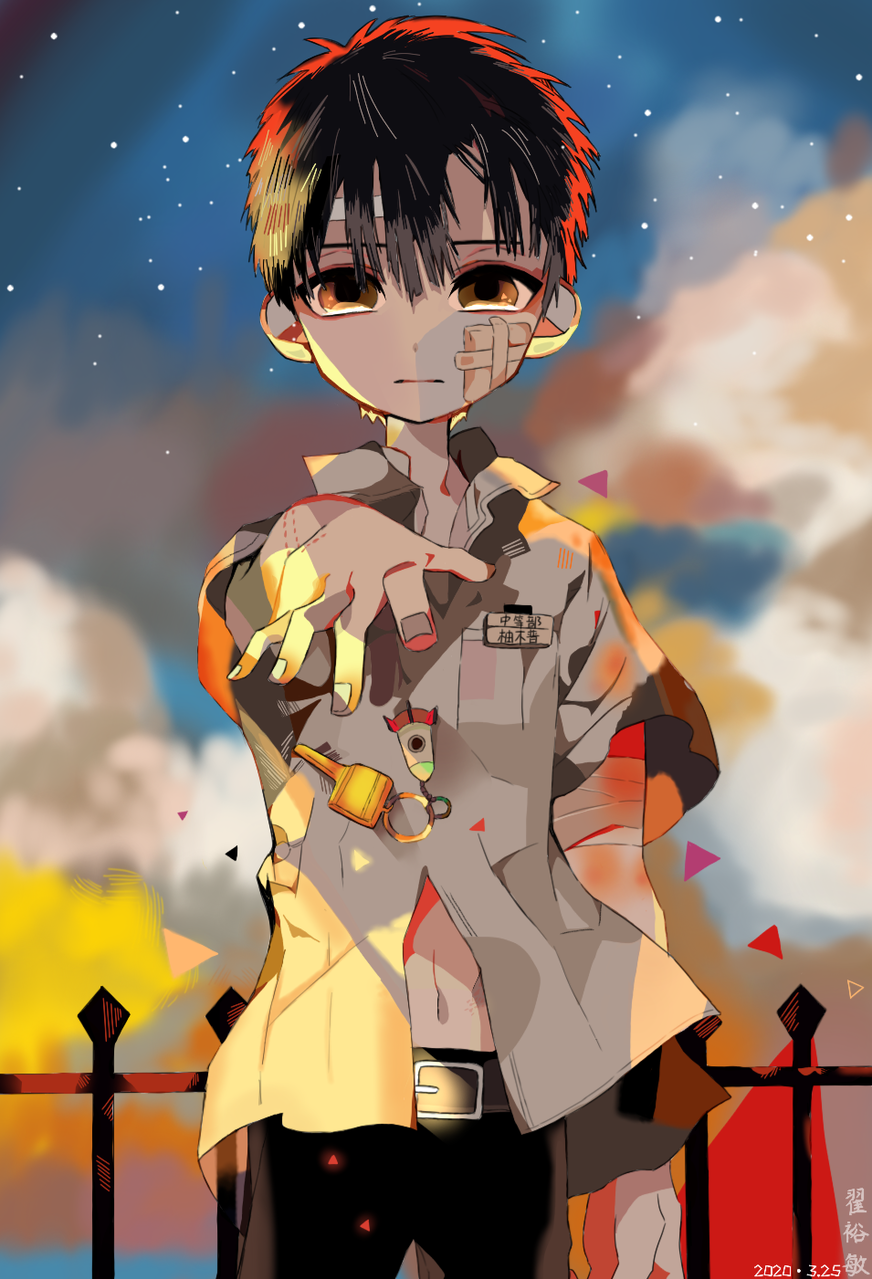 临摹的官图花子 Illust of Minako medibangpaint Toilet-boundHanako-kun