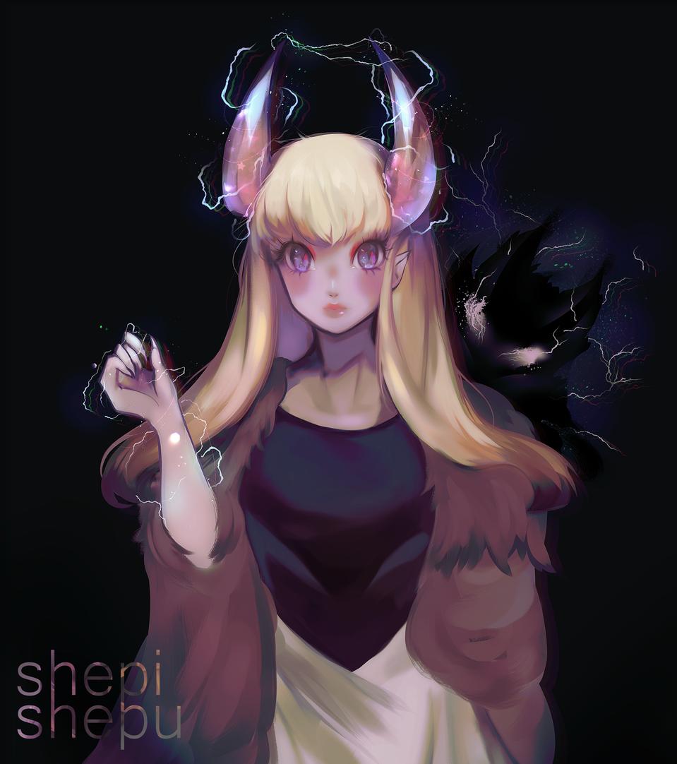 another dnd character Illust of shepishepu witch cutegirl