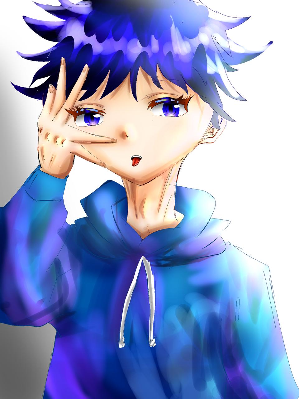 なんか違う() Illust of 彩芽 JujutsuKaisen boy Megumi_Fushiguro 下手くそ