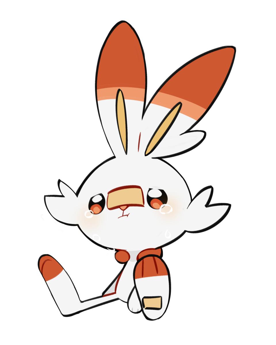 염버니 Illust of Ellie🎗 pokemon Scorbunny