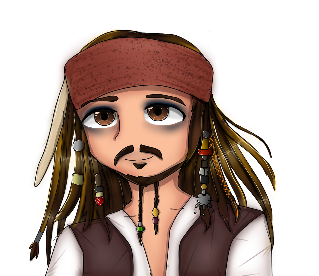 Caption jack sparrow Illust of Shadow666 medibangpaint