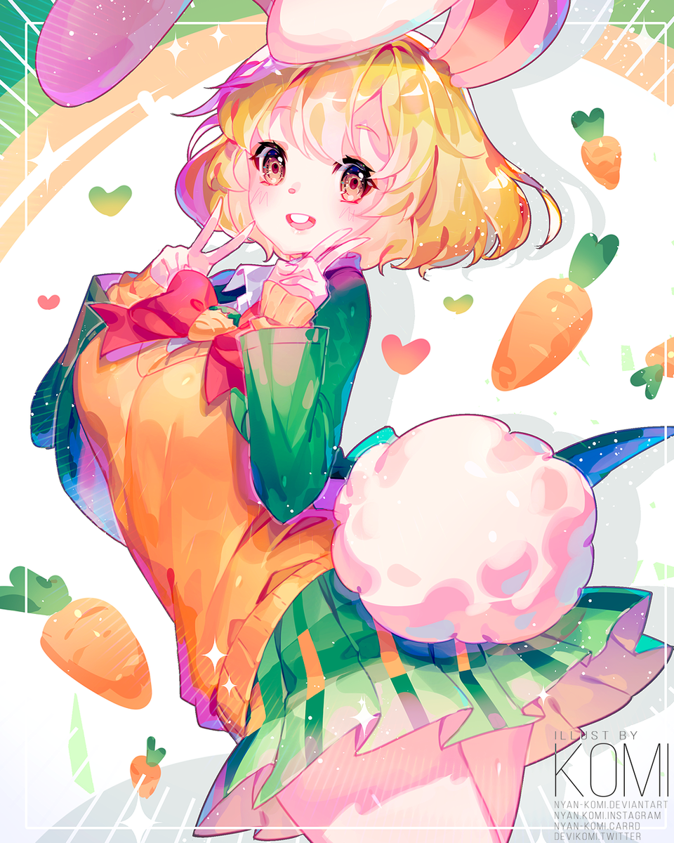🥕🥕🥕 Illust of Nyankomi Carrot commission ONEPIECE