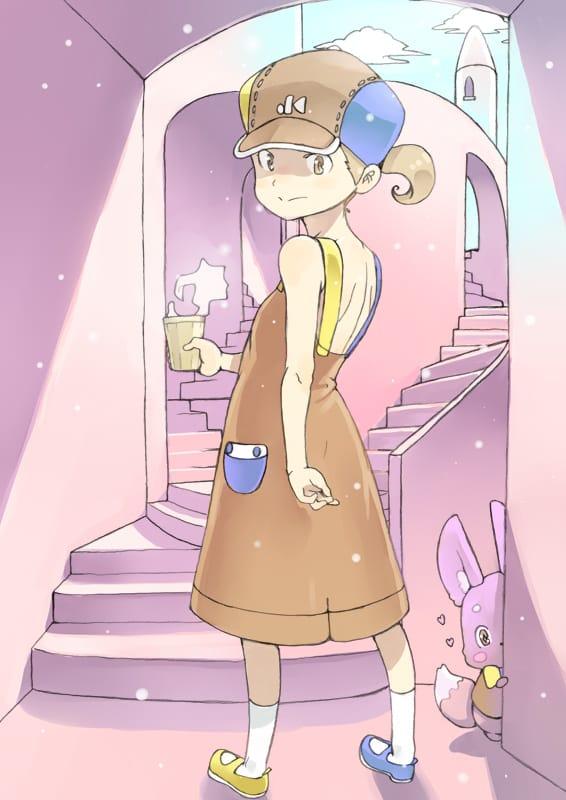 ついてくるの? Illust of かみむらあき kawaii girl MyTinyPrincess illustration
