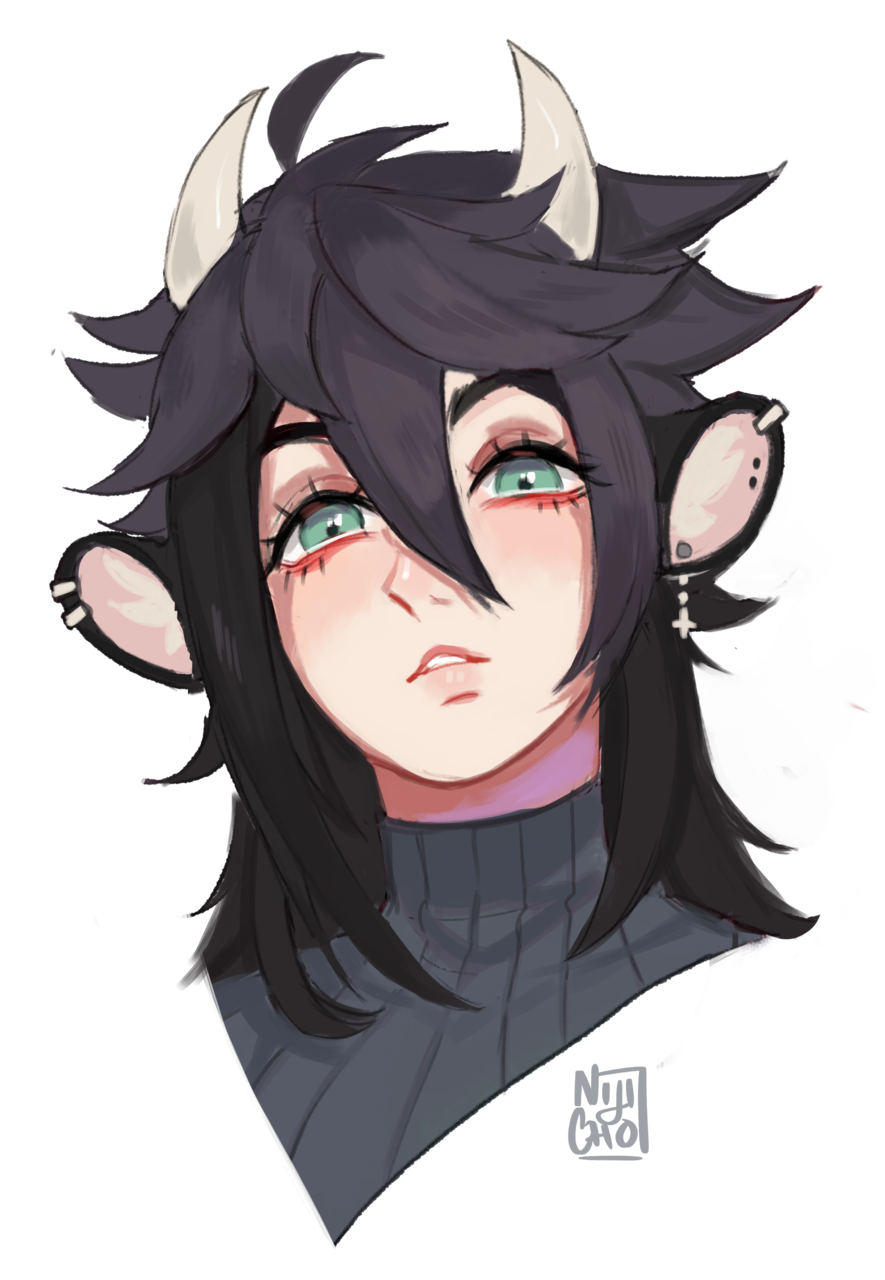 Meet Brandon! Illust of Niji-Cho horns anime guy cute satir