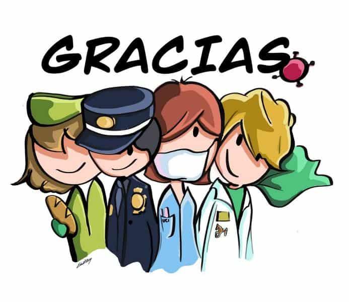 Gracias por su esfuerzo!!! Illust of Otro otakumasbuscandoinspiracion May.2020Contest:Cheering