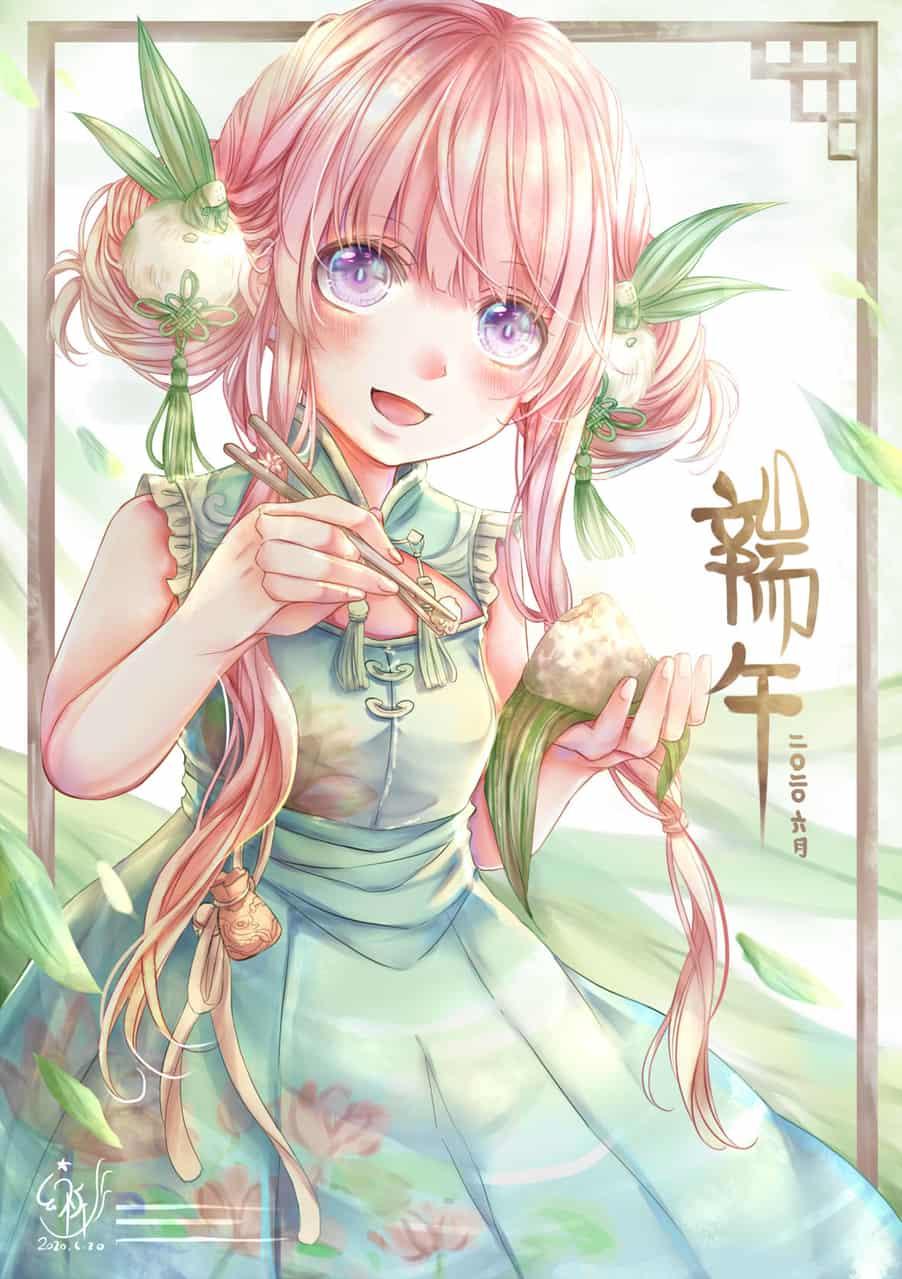 端午 Illust of 幻祈 古風 girl 原創角色 original 端午節