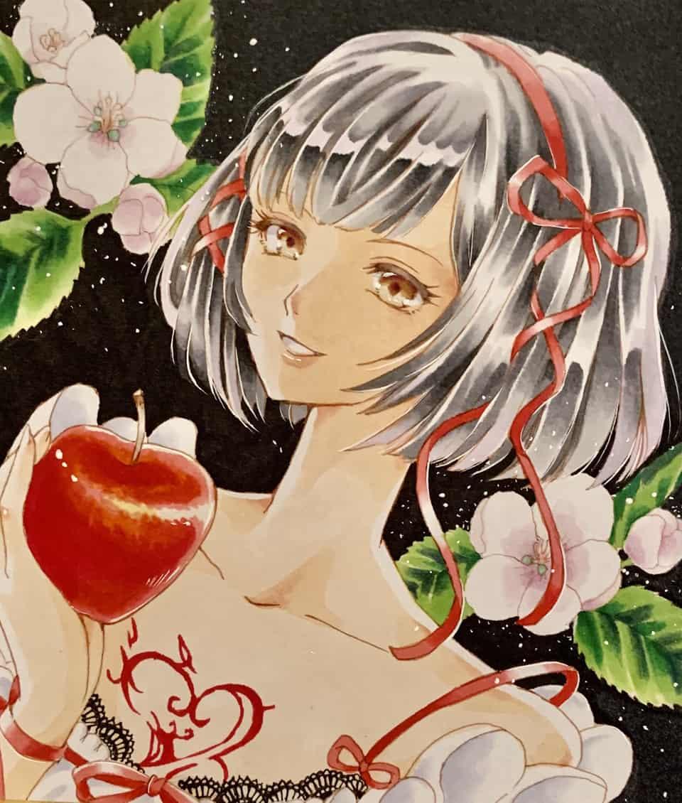 スノウ Illust of みみいか 男の娘 アナログ 黒猫のウィズ Copic ShiraYuki