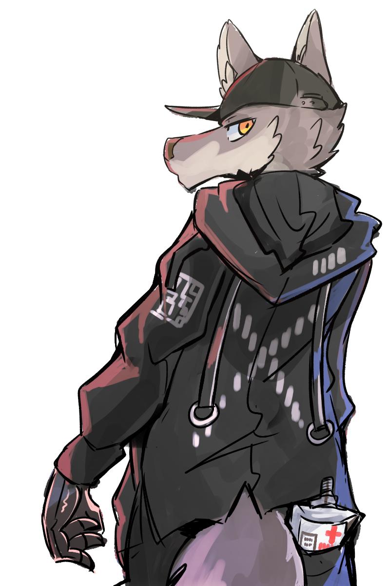 能量 Illust of 肯尼吉 獸人 wolf cyberpunk furry