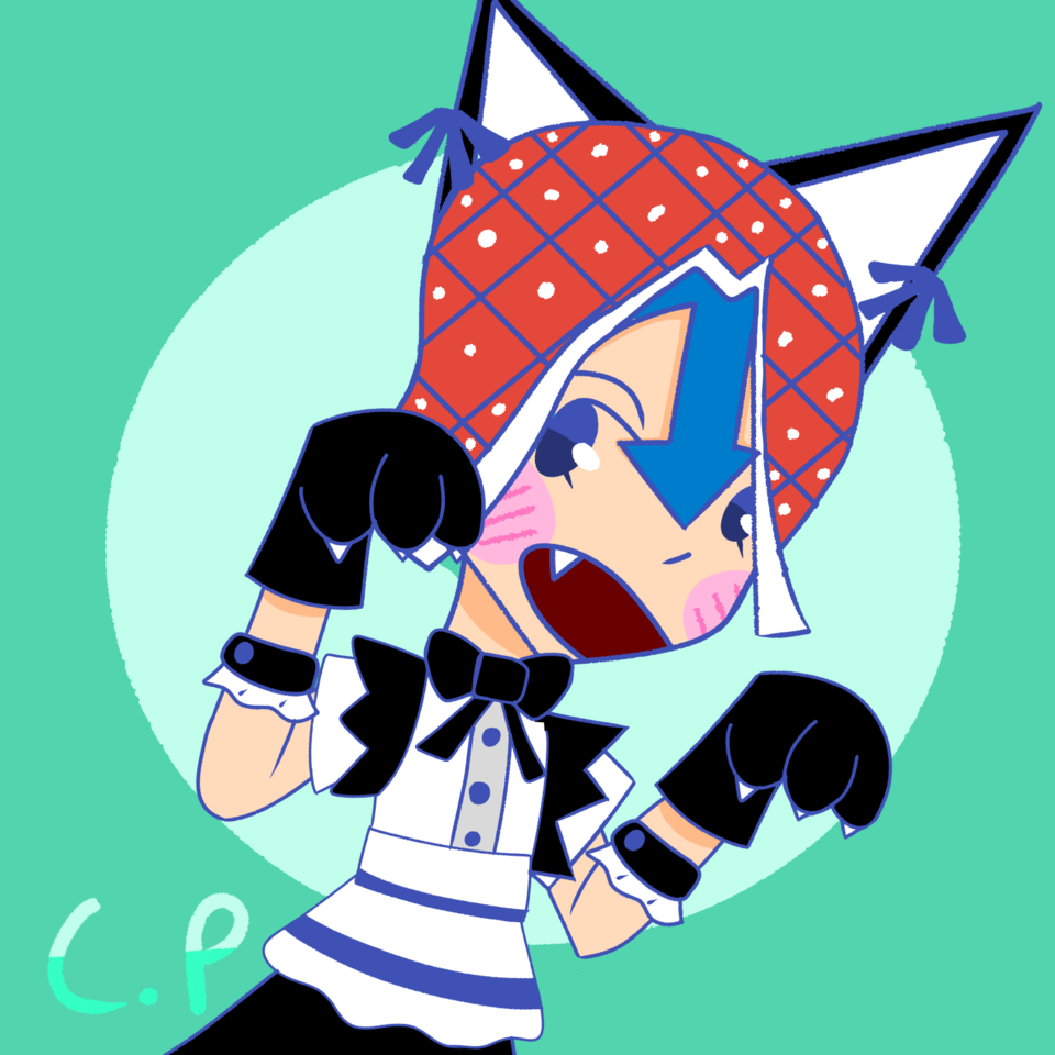 🎶 just did a bad thing 🎶  Illust of Creampuffu what medibangpaint GuidoMista bruh Why digital GoldenWind catboy cursed