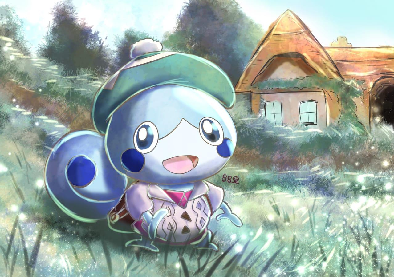ユウリメッソン Illust of 88里 Sobble ワンドロ ユウリ(ポケモン) pokemon