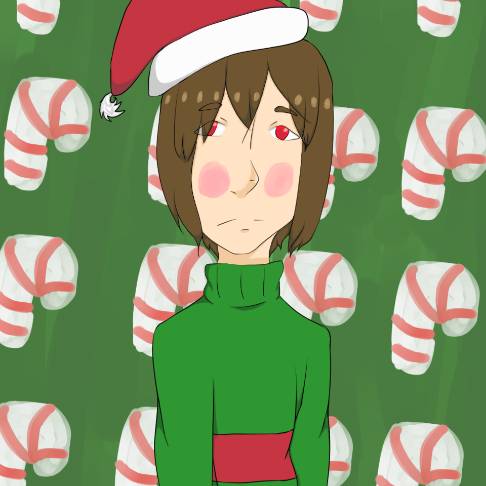 Chara\'s not in the Christmas spirit.. - Maetalia | Illustrations ...