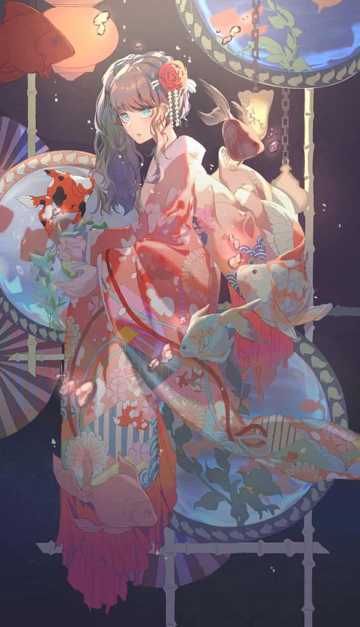 夢幻 Illust of 綠子 Kyoto_Award2020_illustration