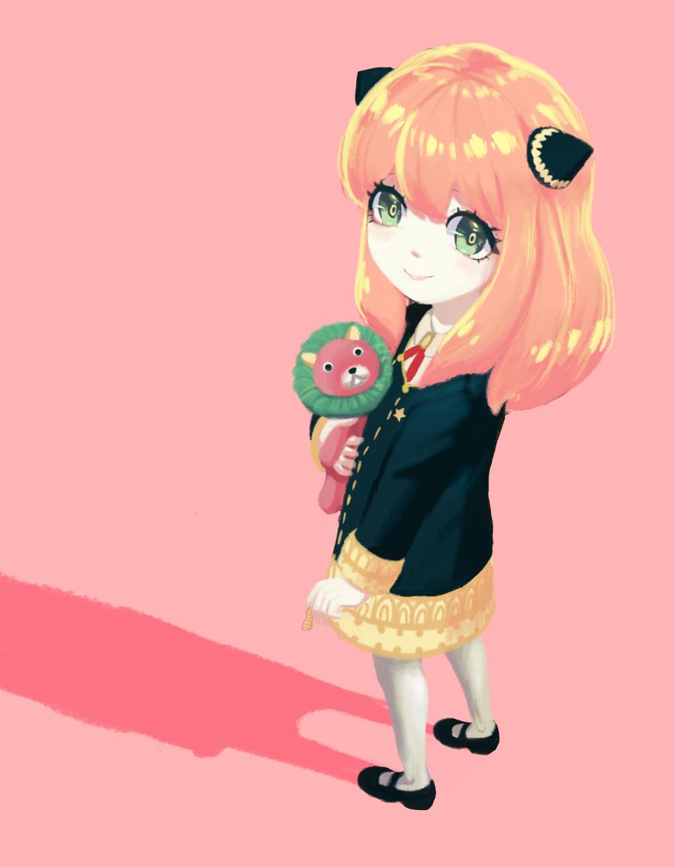 Anya  Illust of Ginka-jack SPY×FAMILY_Contest Mangaplus