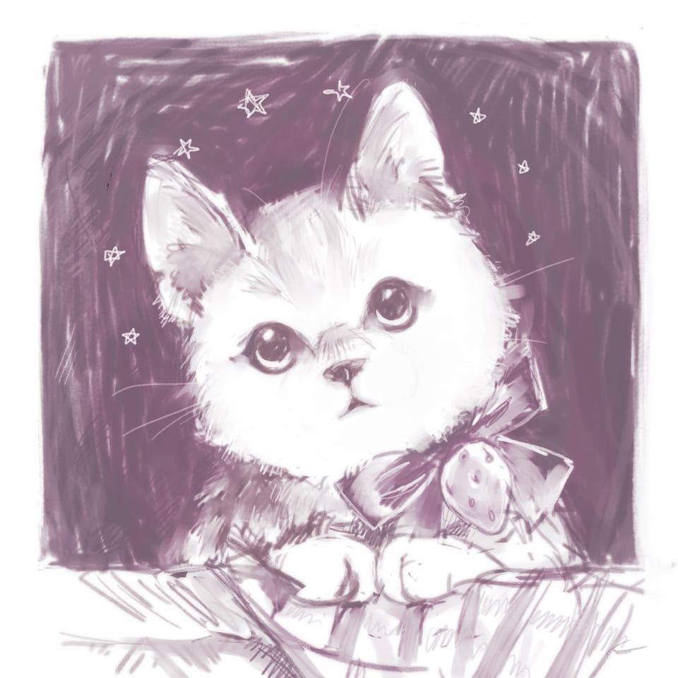 猫 Illust of ささら レッツワンドロ MediBangPaintPro cat