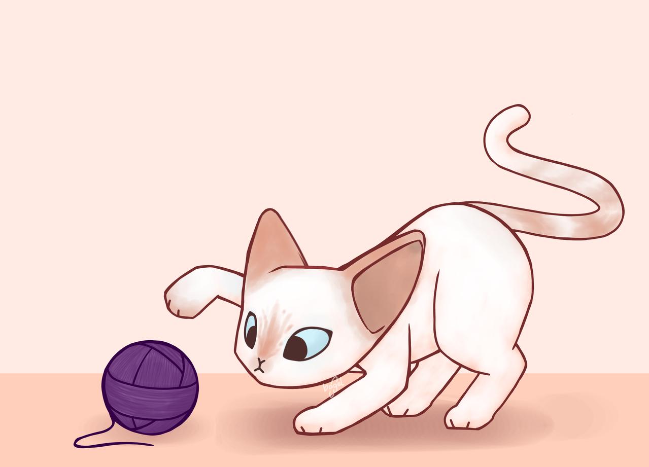 Illust of bAgel-is-dead uwu cat kitty