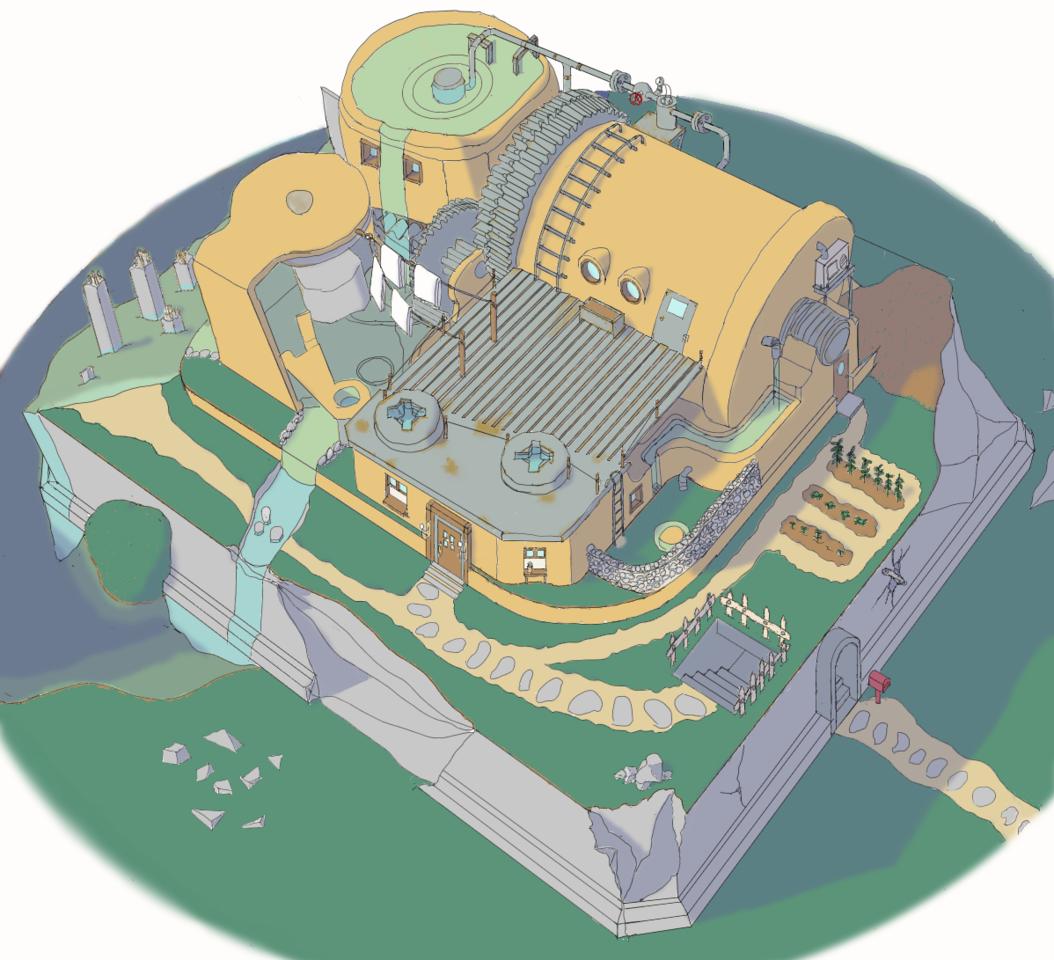 思い出の家 Illust of maple medibangpaint