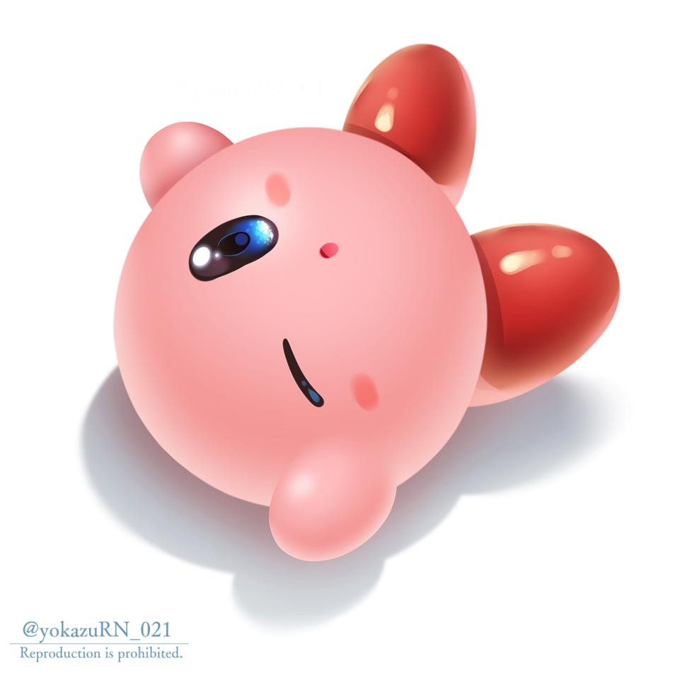 カービィ Illust of 夜和 medibangpaint fanart Kirby'sDreamLand game Kirby