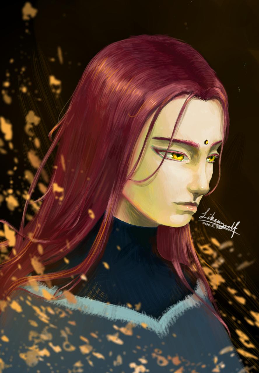 Jade Illust of LIKEMYSELF April.2020Contest:Color Puns medibangpaint oc