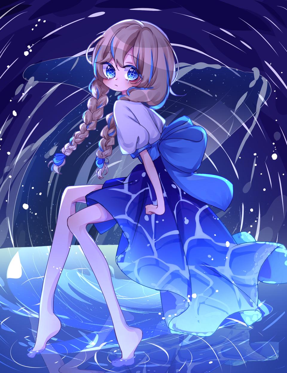 海の幽霊 / ダズビー Illust of 紅茶 medibangpaint 다즈비 blue ダズビー 海の幽霊 바다의_유령