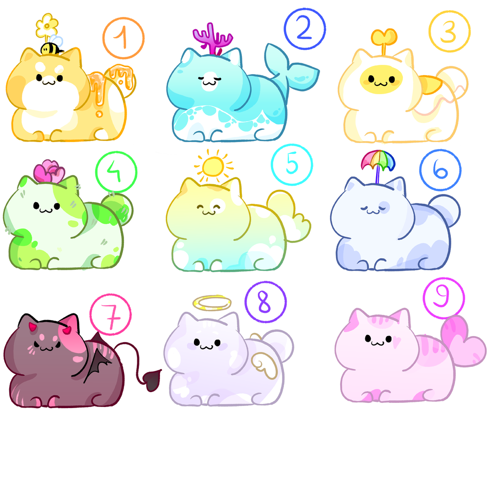 (CLOSED)Who wants to adopt these pets?? Illust of I'm a GHOST medibangpaint furry