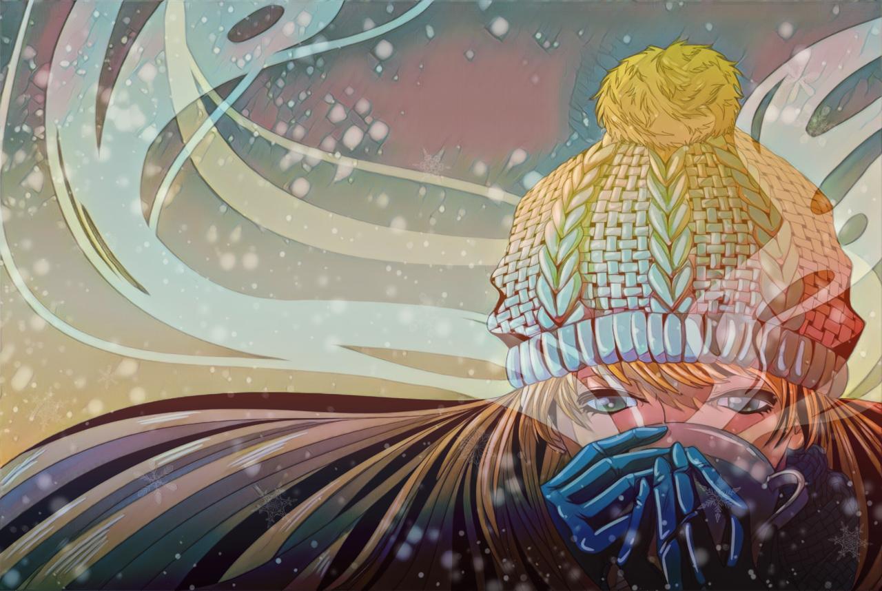 Winter Illust of DANNARTWORK ART_street_Illustration_Book_Contest character Fantasía(10+) drawing Oc's ilustration original illustration concurso personaje oc