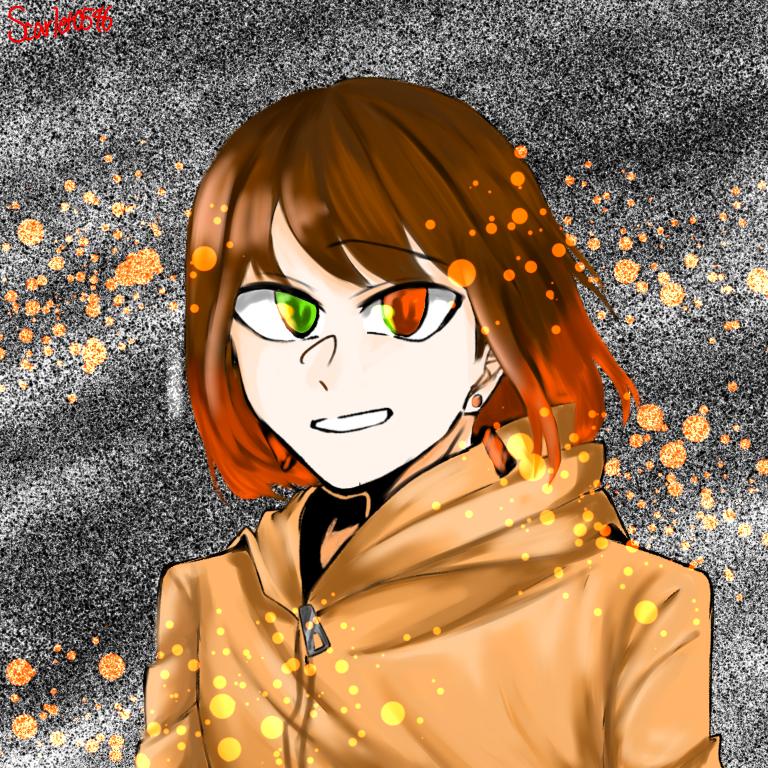 Orangeへ Illust of Scarlet friend impasto 愛してる 大好き 好き 代理 低クオ