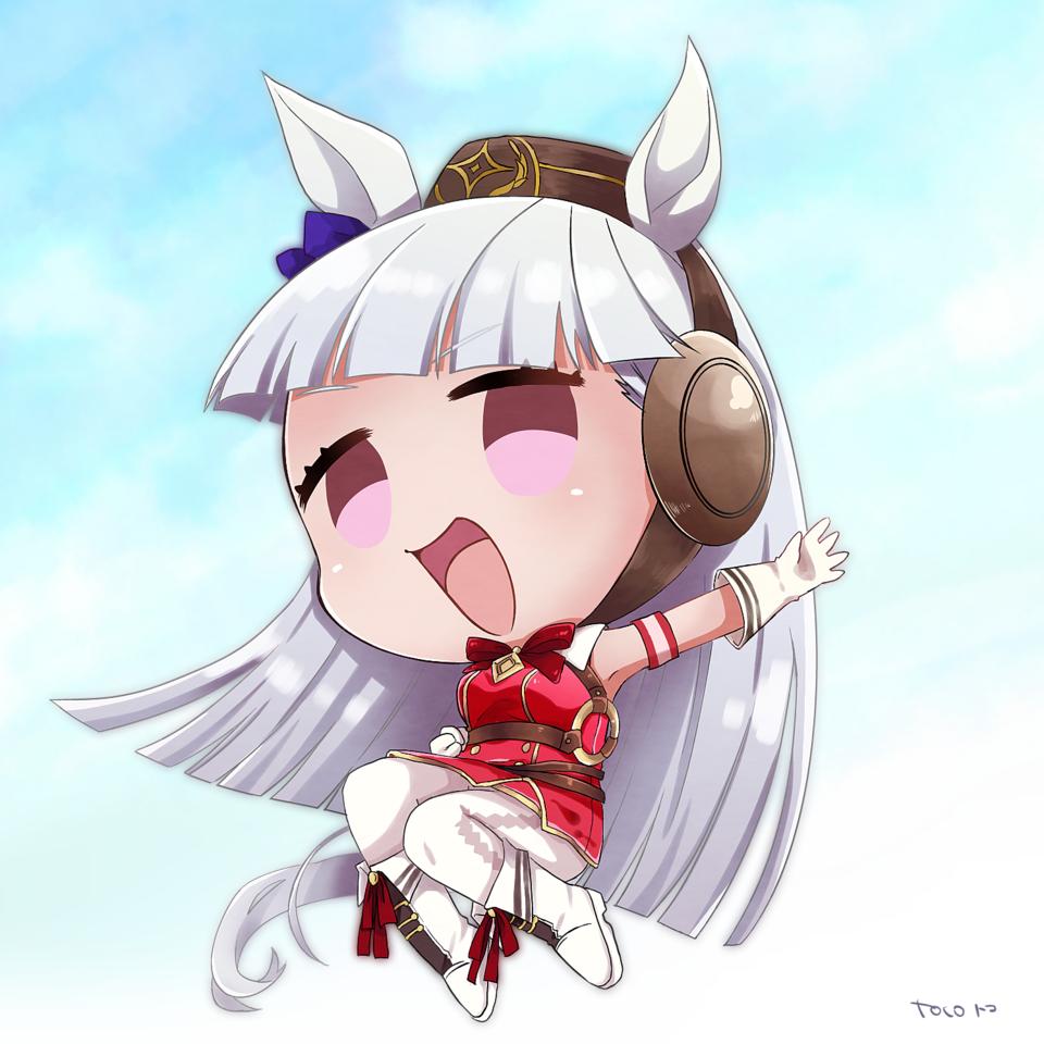ウマ娘 Illust of toco ゴールドシップ umamusume ライスシャワー