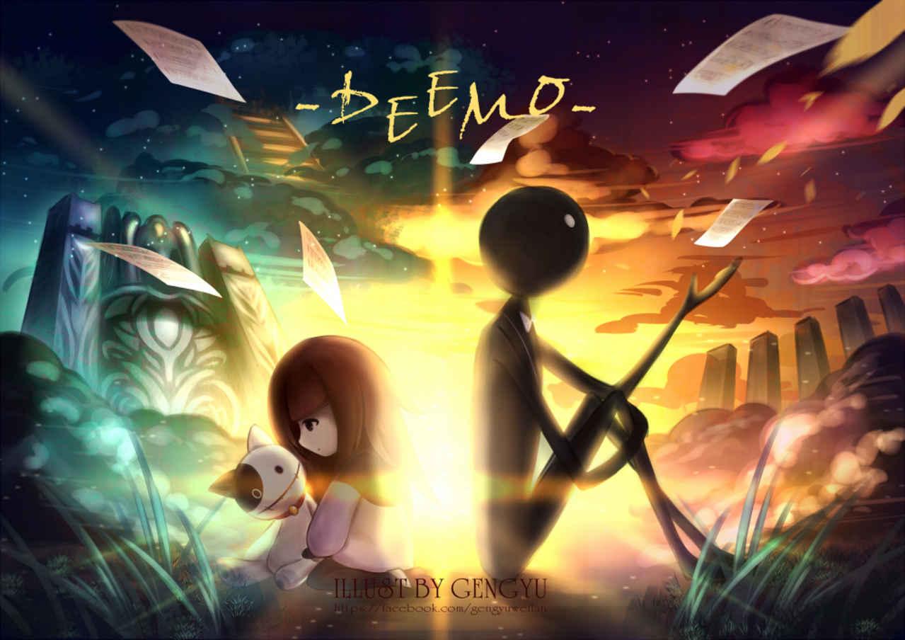 Deemo Illust of 亙羽 Gengyu 筆記本 fanfic Notebook Deemo ノート
