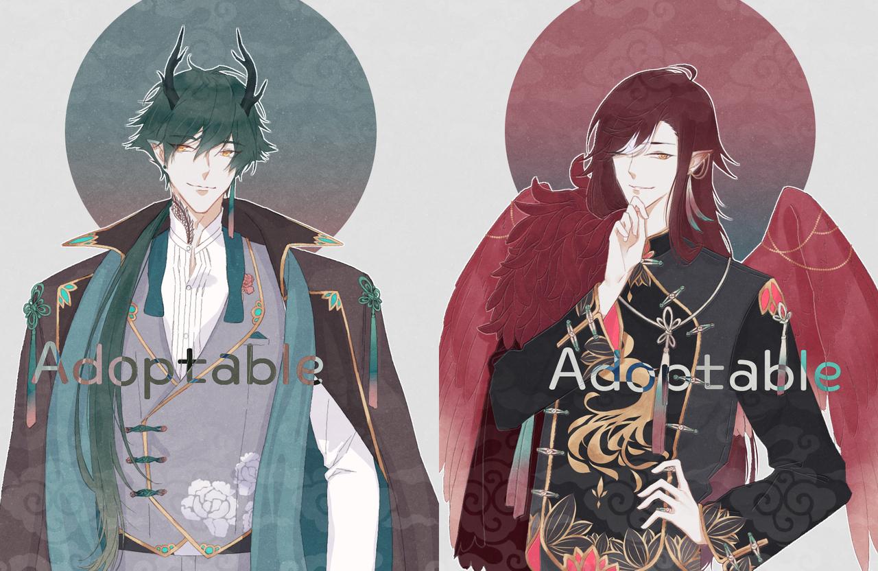 Adoptable Illust of 十四 | TOYO medibangpaint